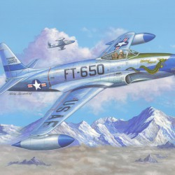 Самолет F-80C Shooting Star fighter