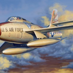 Самолет F-84F Thunderstreak
