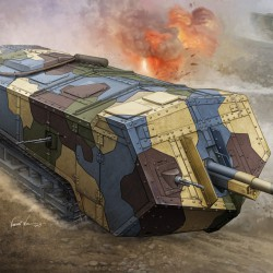 French Saint-Chamond Heavy Tank - Medium