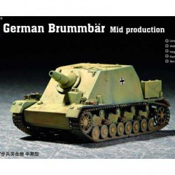 Танк German Brummbar Mid production
