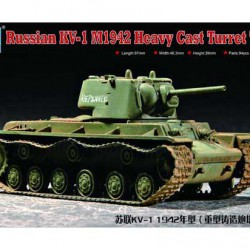 Танк Russian KV-1 Model 1942 Heavy Cast Turr