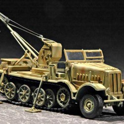 Танк German FAMO Sd.Kfz.9/118T With 6T Bilst