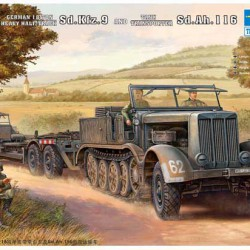 Танк German Sd.Kfz.9(18t)Helf-Track With Sd.