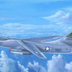 Американский стратегический бомбардировщик A-3D-2 Skywarrior