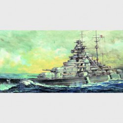 Корабль German Bismarck 1941 Battleship