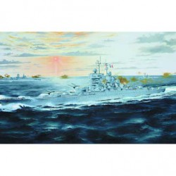 Корабль French Battle Ship Jean-Bart 1955