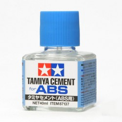 Клей для ABS пластика, 40 мл. (Tamiya Cement for ABS)
