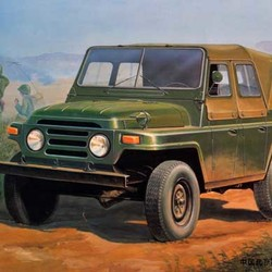 Автомобиль Chinese BJ212 Military Jeep w/canvas