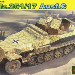 Germany Sd.Kfz.251 / 17 Semi-clogging belt Ausf.C