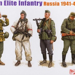 German Elite Infantry, Russia 1941-43