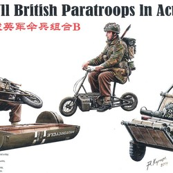 Британские ВДВ WWII British Paratroops In Action Set B