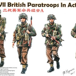 Британские ВДВ WWII British Paratroops In Action Set A