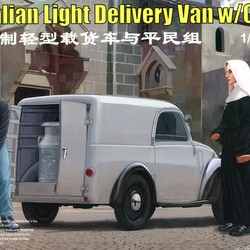 Автомобиль Italian Light Delivary Van w/Civilian