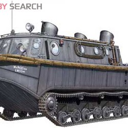 Бронемашина Land-Wasser-Schlepper (Early Production)