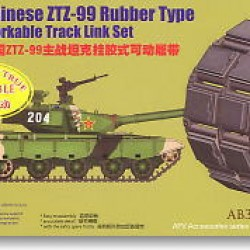 Траки для Chinese ZTZ-99 Rubber Type Workable Track Link Set