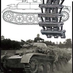 Траки для PzKpfw II Ausf. D Early Type Attachment Workable Track Link