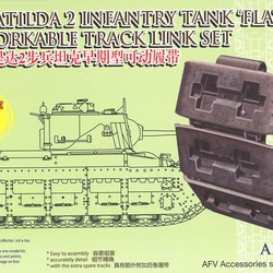 Траки для Matilda 2 Infantry Tank Flat Type Workable Track Link Set