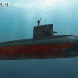 Китайская подводная лодка Chinese Yuan Class (Type 041) Diesel-powered Attack Submarine