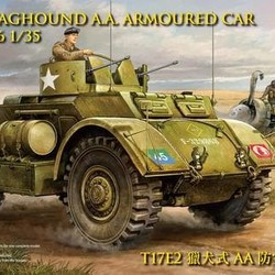 Британский бронеавтомобиль T17E2 Staghound AA