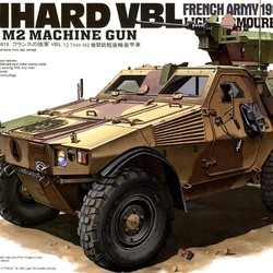 Французский бронеавтомобиль French Army Panhard VBL Light Armored Vehicle w/.50 cal Machine Gun