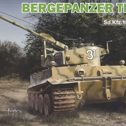 Машина обслуживания Bergetiger на базе танка Тигр - Tiger I Tank Recovery Vehicle