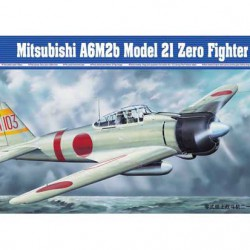 Самолет Mitsubishi A6M2b Model 21 Zero Fight